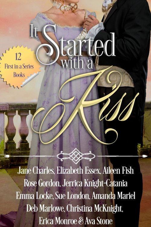 It Started with a Kiss Historical Romance Box Set of 12 Firsts