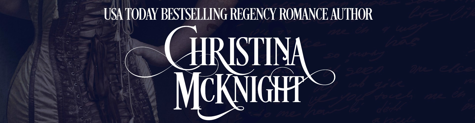 USA Today Bestselling Regency Romance Author Christina McKnight